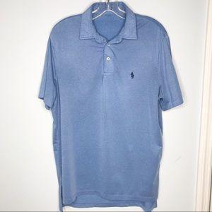 Polo Ralph Lauren blue performance shirt